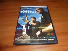 End of Watch (DVD, Widescreen 2013) Used Jake Gyllenhaal, Michael Pena