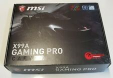 MSI X99A GAMING PRO CARBON LGA 2011-v3 Intel X99 SATA 6Gb/s with Box