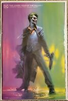 Joker Year Of The Villain #1 Exclusive Gabriele Dell'Otto Minimal Trade Variant