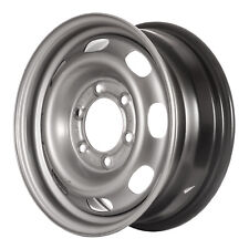 08061 Refinished OEM Wheel Steel Fits 2004-2008 Chevrolet Colorado Silver