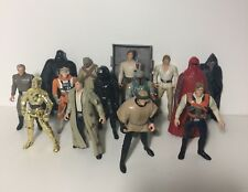 Star Wars POTF Collection Vintage Han Solo, C 3PO, royalguard etc 1997 KENNER