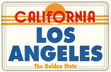 "Postcard: ""Los Angeles The Golden State"" Los Angeles, California. Fast Shipping."