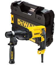 DeWALT 3-Mode 800w 2.6J SDS Plus/SDS+ Hammer Combi Chisler Drill 240v D25133K