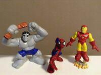 Cake Topper LOT 5 Marvel Super Hero Squad Amazing Spider-Man Peter Parker A581x5