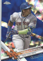 YOENIS CESPEDES 2017 TOPPS CHROME SAPPHIRE EDITION #600 ONLY 250 MADE