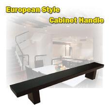 "10"" European Style Kitchen Cabinet Handle Black Finish"