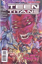 TEEN TITANS #22 - EDDY BARROWS ART & COVER - DC's THE NEW 52 - 2013