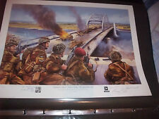 Graebner Attack, A Bridge Too Far, Signed by 2 WW2 Veterans and both Film Star