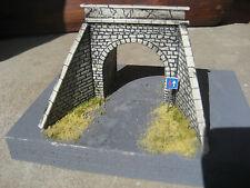 sottopasso stradale in scala h0 per plastico ferroviario ART. V 05