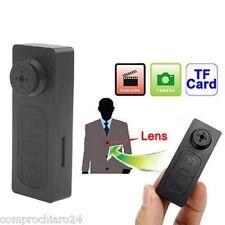 SPY Bottone Camicia Telecamera Nascosta + microSD 16GB 1280x960 pixel Micro USB
