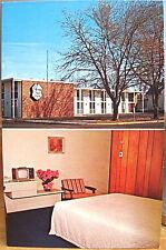 Montana Postcard BILLINGS CHERRY TREE INN Motel 1970s Room Prices Decor Broadway