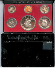 "1973-S US PROOF SET EISENHOWER ""IKE"" DOLLAR     $1.5 MILLION IN EBAY SALES #zZ1b"
