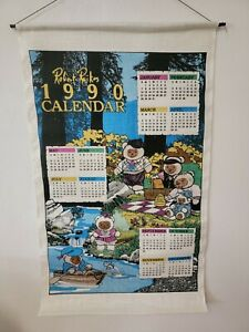 RARE Robert Raikes Bear Calendar 1990