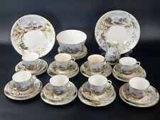 Antique Aynsley Tea Set Hand Painted c1870s