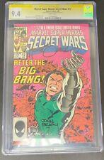 marvel super heroes secret wars 12 Comic Cgc yellow label 9.4 SS Zeck Beatty