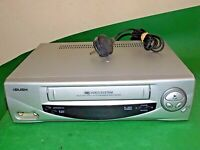 BUSH VCR906SIL Video Cassette Recorder VHS VCR Silver Tape FAULTY / SPARES