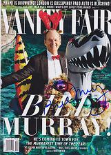 Bill Murray signed Vanity Fair magazine