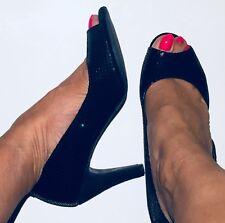Next Sole Survivor Peeptoe Court Shoes / Size 6 Uk 39 Eur / New