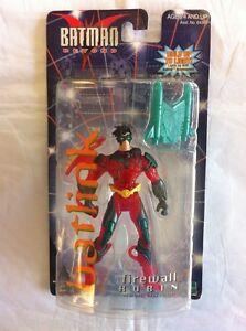 Batman Beyond Batlink Firewall Robin Figure Hasbro 1999
