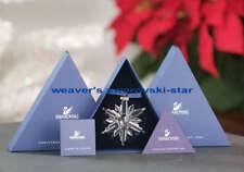2006 SWAROVSKI LARGE ANNUAL CRYSTAL SNOWFLAKE ORNAMENT MIB PERFECT!!!