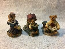 Boyds Bearly Built Villages Wilsons Book Store Accessories Agatha Norman 19522-1