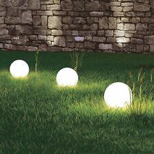 Dalux® Solar-Kugel-Dekoleuchte OLA mit Erdspieß 3er Set Gartendekoration
