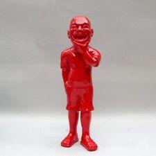 Modern Art Sculpture Creative Abstract Yue Minjun Wei Wei Character Big Smile