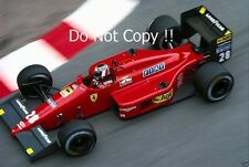 Gerhard Berger Ferrari F1/87 Monaco Grand Prix 1987 Photograph
