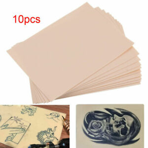 Pack of 10 20x15cm Synthetic Learn Blank Tattoos Fake False Practice Skins