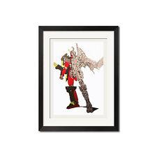 Yoh Yoshinari x Gurren Lagann Special Super Robot Poster Print