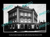 OLD LARGE HISTORIC PHOTO ANERLEY LONDON ENGLAND THE ANERLEY ARMS TAVERN c1930