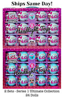 LOL Surprise Ultimate Collection 24 Dolls Balls Series 1 Waves 1 2 Diva Merbaby
