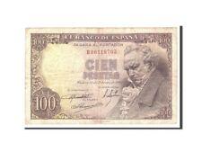 [#114247] Spain, 100 Pesetas, 1946, KM:131a, 1946-02-19, VF(20-25)