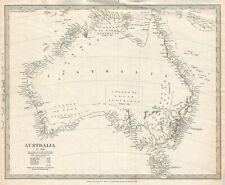 1840 S.D.U.K. Subscriber's Edition Map of Australia