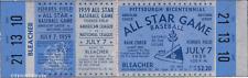 1 1959 ALL-STAR GAME VINTAGE UNUSED FULL TICKET BASEBALL reproduction laminated!