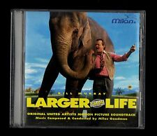 Miles Goodman / Bill Murray  LARGER THAN LIFE  CD OST MILAN