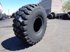 26.5R25 Bridgestone OTR Tire E-4 VLTSZ 2-Star Used 45/32 (2)Sidewall Sections /