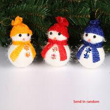 Santa Claus Snowman Toy Doll Gift Tiny Christmas Decorations Supplies Random