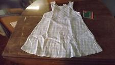 Girls Healthtex Purple & Blue Plaid Dress Size 4 NWT New Old Stock