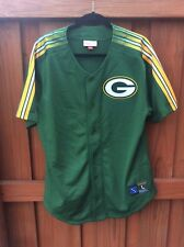 Mitchell   Ness Green Bay Packers Baseball-Style Jersey a39adf0a7