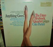 Anything Goes! Dave Brubeck Quartet plays Cole Porter Play Graded Columbia LP