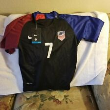USA SOCCER JERSEY - YOUTH BOYS SMALL - NIKE DRI-FIT - #7 - NWT