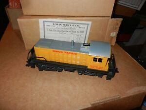 MARX Diesel #1999S Union Pacific Switcher, OB, Original