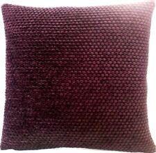 """Designers Guild Cushion Cover Dark Wine Red Black Chenille Fabric Brescia 18"""""""