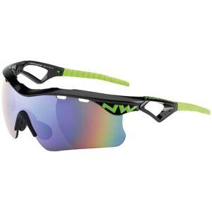 Bicycle Sunglasses Northwave mod. 'Steel', col. Black/Green; Brand New