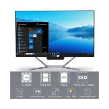 "COMPUTER DESKTOP ALL IN ONE I5 4200M 24"" FULL HD HDMI WIFI WINDOWS 10 PRO-"