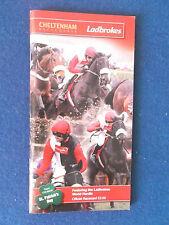 Cheltenham Festival Programme / Racecard - 17/3/2011 - World Hurdle