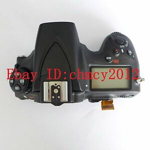 Original LCD Top cover / head Flash shell for Nikon D810 Digital Camera Repair