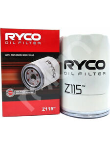 Ryco Oil Filter FOR NISSAN STANZA 710 (Z115)