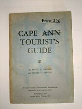 Cape Ann Tourist's Guide by Roger Babson and Foster Saville